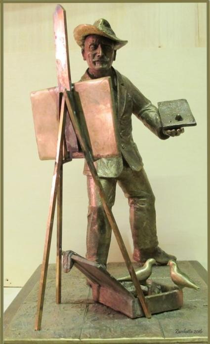 bronzetto di Alberto Zucchetta