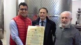 villa-castelli-oleificio-caliandro-con-il-sindaco-vitantonio-caliandro