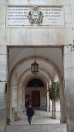 via dolorosa ingresso monastero della Flagellazione 2016-04-12 15.29.26 Poli