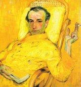 charles baudelaire ritratto di Franz Kupka