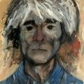 Amanda Lear- Ritratto di Andy Warhol