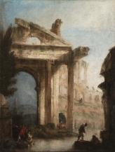 18 Canaletto_Capriccio architettonico