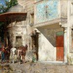 Alberto-Pasini-Davanti-alla-Moschea-1875-80-olio-su-tela-tif.-1-150x150