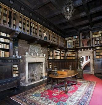 Casa del Podestà_La Biblioteca