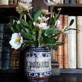 Vanitas. Fiori di carta e antichi vasi da farmacia (1)