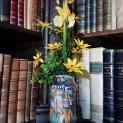 Vanitas. Fiori di carta e antichi vasi da farmacia (2)