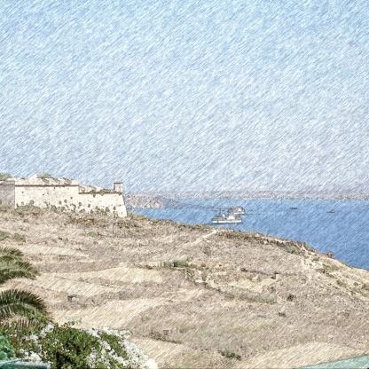 Gozo fortezza 3foto Poli_FotoSketcher